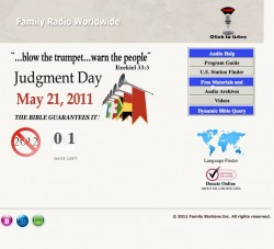 Judgment Day Rapture Harold Camping