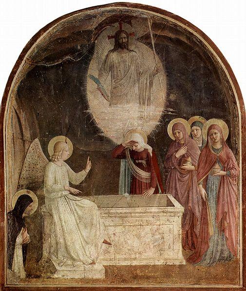 women at the resurrection, gospel of Luke