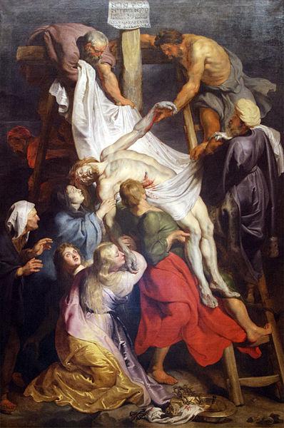 La descente de croix Rubens