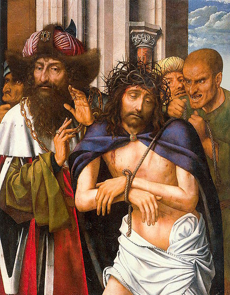 Quentin Massys Ecce Homo 1520, Doge's Palace,Venice